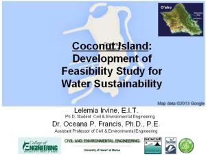 Coconut Island Graphic